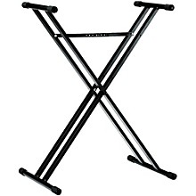 Open Box K&M 18963.071.55 X-Style Double Braced Keyboard Stand