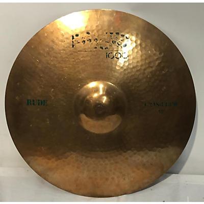 Paiste 18in 1000 Rude Crash Ride Cymbal