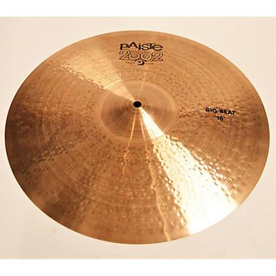 Paiste 18in 2002 BIG BEAT CRASH CYMBAL Cymbal