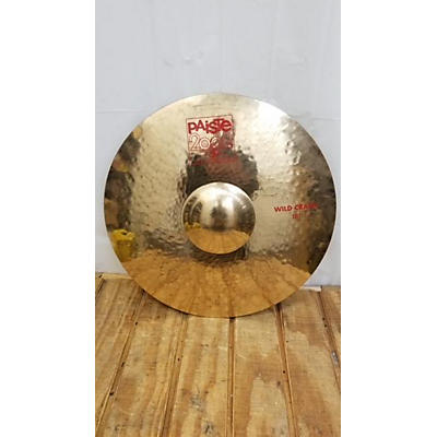 Paiste 18in 2002 Wild Crash Cymbal