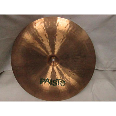 Paiste 18in 505 GREEN LABEL Cymbal