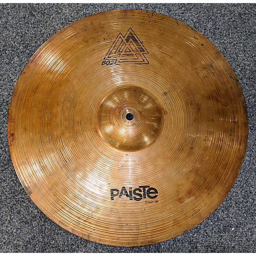 Paiste 18in 802 Crash 18 Cymbal 38