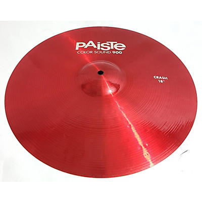Paiste 18in 900 Series Color Sound Crash Cymbal
