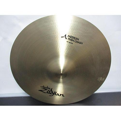 Zildjian 18in A Series Medium Thin Crash Cymbal 38