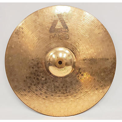 Paiste 18in Alpha Medium Crash Brilliant Cymbal