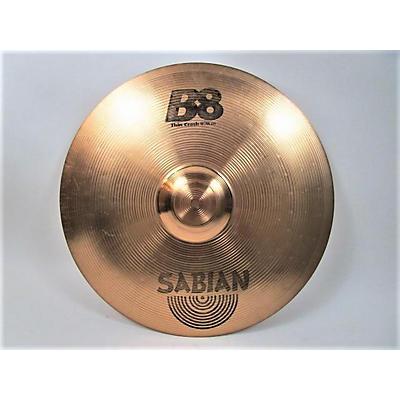 Sabian 18in B8 Thin Crash Cymbal