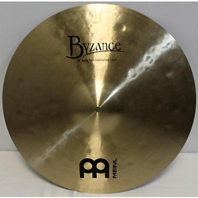 MEINL 18in Byzance EX Thin Hammered Crash Cymbal