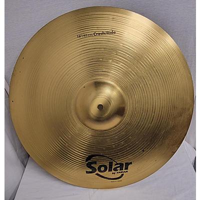 Solar by Sabian 18in CRASH Cymbal