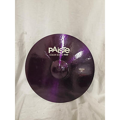 Paiste 18in Colorsound 900 Crash Cymbal