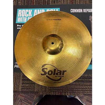 Solar by Sabian 18in Crash/ Ride Cymbal