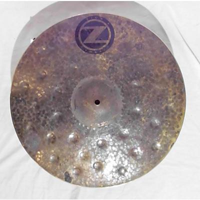 Zion 18in Dark Fury Crash Cymbal