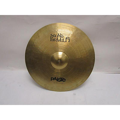 Paiste 18in Formula 602 Series Thin Crash Cymbal