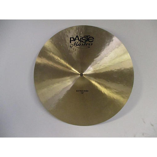 Paiste 18in Masters Extra Thin 18