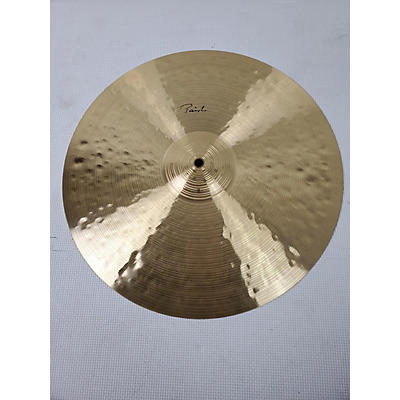 Paiste 18in Traditional Thin Crash Cymbal