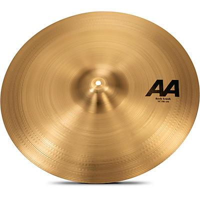 """Sabian 19"""" AA Rock Crash Cymbal"""