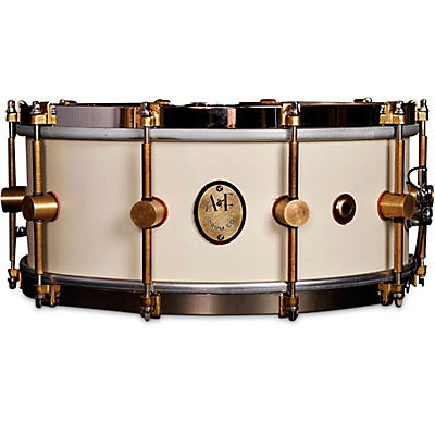 A&F Drum Co 1901 Limited Edition 14 x 5 in. Antique White Maple Club Snare
