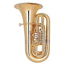 191 Series 5/4 BBb Tuba 191-4V Gold Brass 4 Valves Nickel Silver Slides