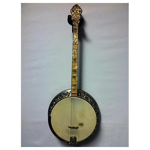 Bacon & Day 1930s 1930's Sultana Silver Bell Tenor Banjo Banjo PEARLOID