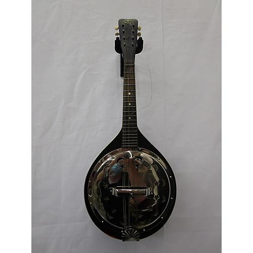 Regal 1930s Resonator Mandolin Mandolin Black