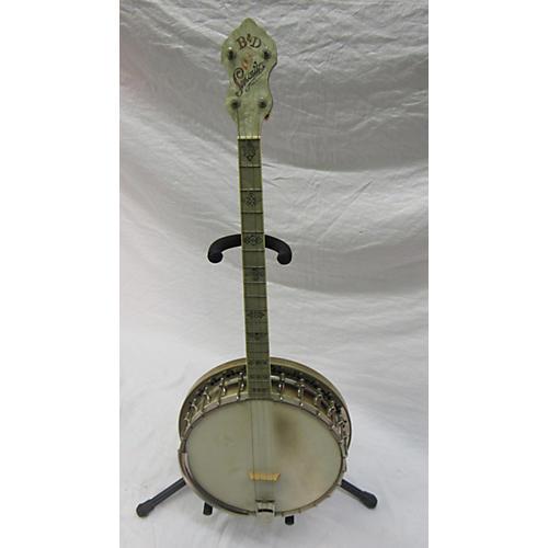 Bacon & Day 1935 SENORITA TENOR BANJO Banjo Antique White