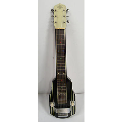 Vega 1940s H24 Lap Steel And Amp Outfit Solid Body Electric Guitar