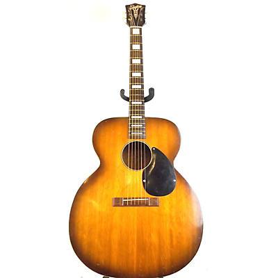 Silvertone 1950 618 Jumbo Acoustic Guitar