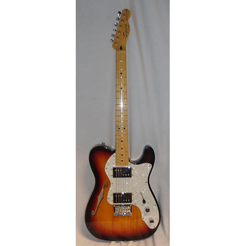 Fender 1950S NOS Thinline Telecaster... 2 Color Sunburst