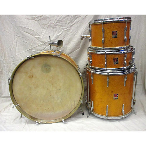 Premier 1950s 1950s Birch Shell Kit Drum Kit Gold Glitter