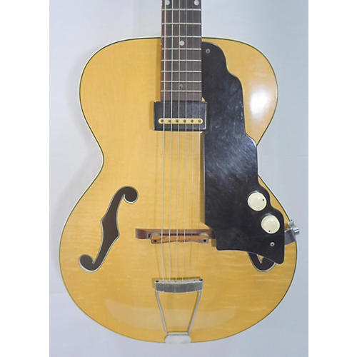 National 1953 New Yorker Spanish Hollow Body Electric Guitar Yellow natural