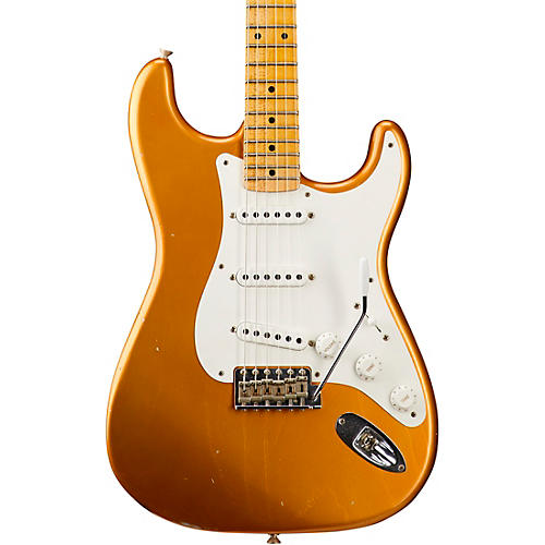 Fender Custom Shop 1955 Journeyman Relic Stratocaster - Custom Built - NAMM Limited Edition Faded Candy Tangerine