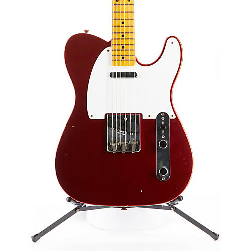 Fender Custom Shop 1957 Telecaster Journeyman Relic Electric Guitar Aged Candy Apple Red