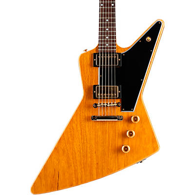 Gibson Custom 1958 Korina Explorer Black Pickguard Electric Guitar