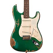 1959 Heavy Relic Stratocaster Limited Edition Electric Guitar Aged Sherwood Green Metallic