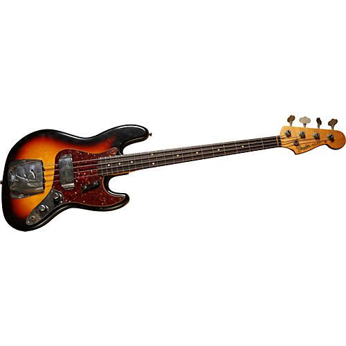 Fender Custom Shop 1960 Jazz Relic Electric Bass Guitar