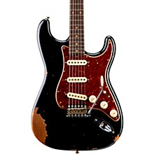 1960 Roasted Heavy Relic Stratocaster Electric Guitar Aged Black