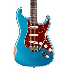 1960 Roasted Relic Stratocaster Electric Guitar Faded Lake Placid Blue