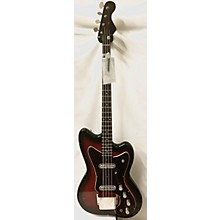 Silvertone 1960s 1443 Silhouette Bass Electric Bass Guitar