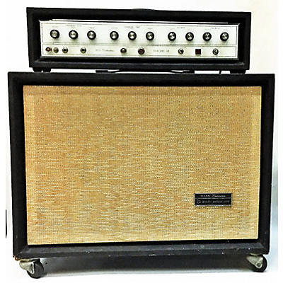 Silvertone 1960s 1464 HEAD & CAB Solid State Guitar Amp Head
