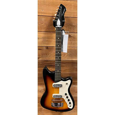 Silvertone 1960s 1476 OSC Solid Body Electric Guitar