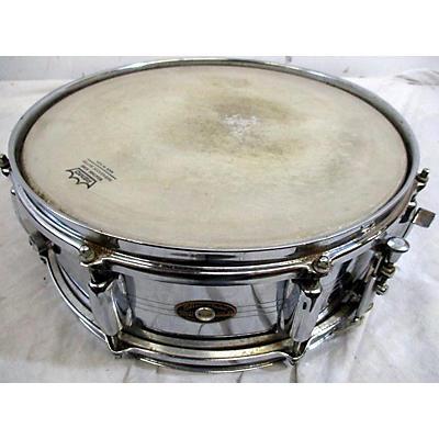 Slingerland 1960s 14in Black And Brass Badge Drum