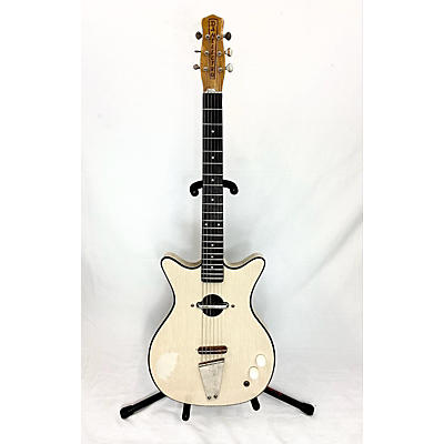 Danelectro 1960s 1960's Convertible Natural Hollow Body Electric Guitar