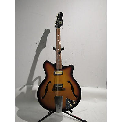 Kent 1960s Americana 2 Pick Up Hollow Body Electric Guitar