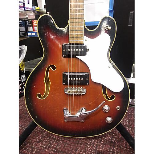 Mosrite 1960s Celebrity Hollow Body Electric Guitar Sunbust
