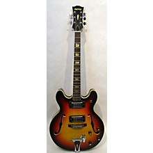 Univox 1960s Coily Hollow Body Electric Guitar