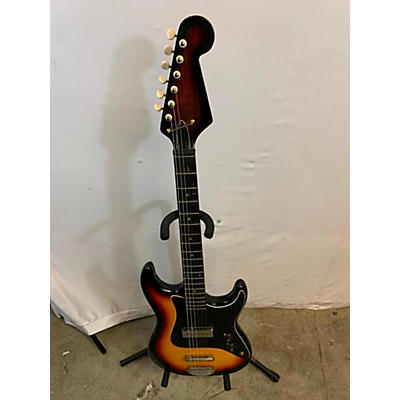 Teisco 1960s DEL REY E-100 Solid Body Electric Guitar