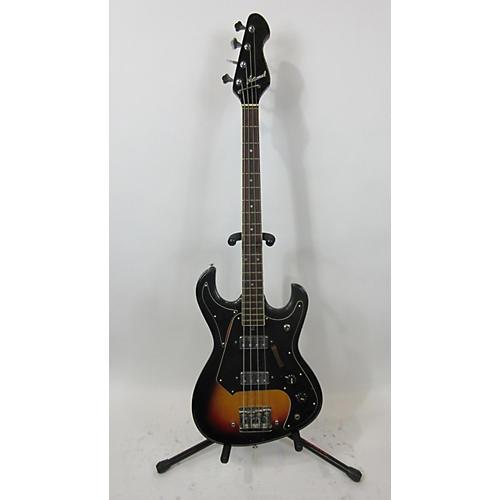National 1960s EG467 Electric Bass Guitar Sunburst