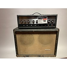 Silvertone 1960s Model 1484 Twin Twelve W/Cab Tube Guitar Amp Head