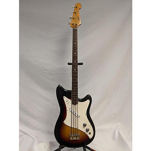 1960s Panther Electric Bass Guitar