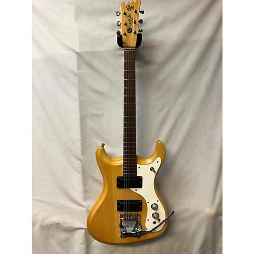 Mosrite 1960s Ventures II Solid Body Electric Guitar Natural