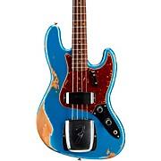 1961 Jazz Bass Heavy Relic Aged Lake Placid Blue